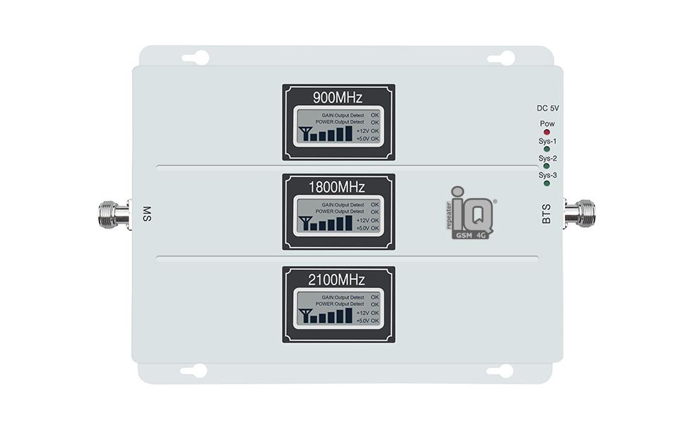 IQ TELECOM GSM 4G 900-1800-2100mhz Tri-Band